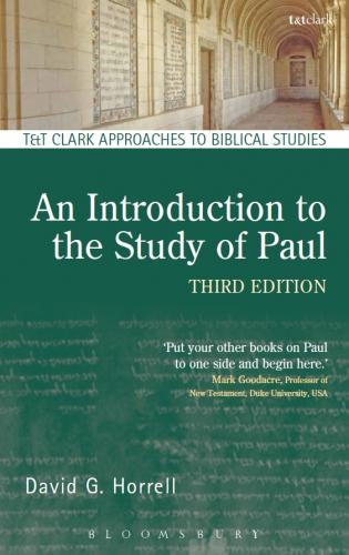 An Introduction to the Study of Paul, 3rd edition (2015)<br /><a href='http://humanities.exeter.ac.uk/staff/horrell'>David Horrell</a>