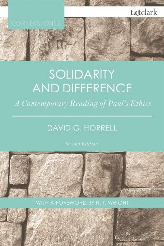 Solidarity and Difference (2015)<br /><a href='http://humanities.exeter.ac.uk/staff/horrell'>David Horrell</a>