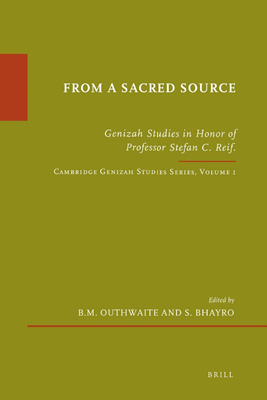 From a Sacred Source (2010)<br /><a href='http://humanities.exeter.ac.uk/theology/staff/bhayro/'>Siam Bhayro</a> and B.M.Outhwaite (editors)