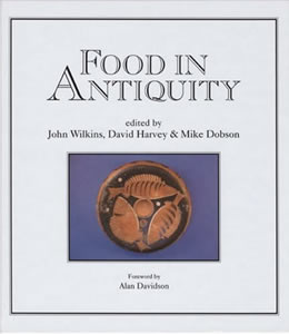 Food in Antiquity (1999)<br />Edited by <a href='/classics/staff/wilkins/'>John Wilkins</a>, <a href='/classics/staff/harvey/'>David Harvey and Mike Dobson