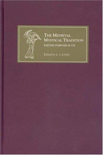 The Medieval Mystical Tradition in England, vol VII (2004)<br /><a href='http://humanities.exeter.ac.uk/english/staff/ejones/'>Eddie Jones</a> (ed.)